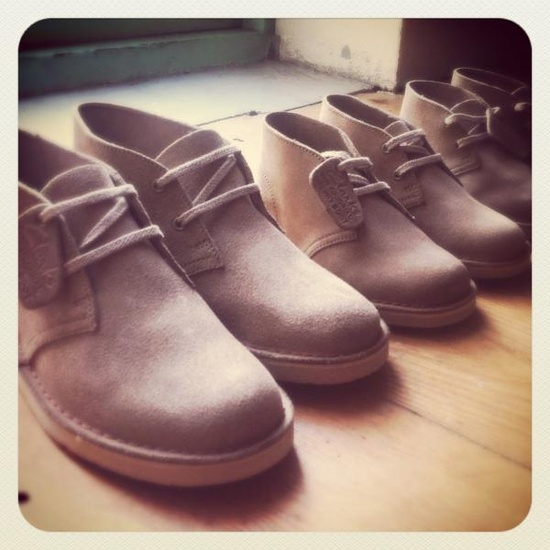 Clarks Desert Boots for the whole family!