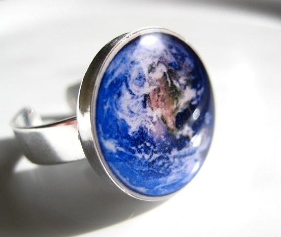 the world at your finger # ring # mother earth