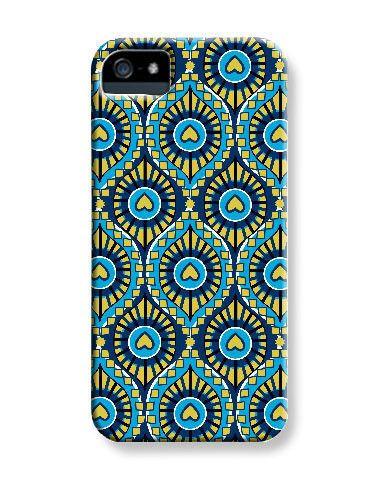 Isfahan Peackock iPhone Case