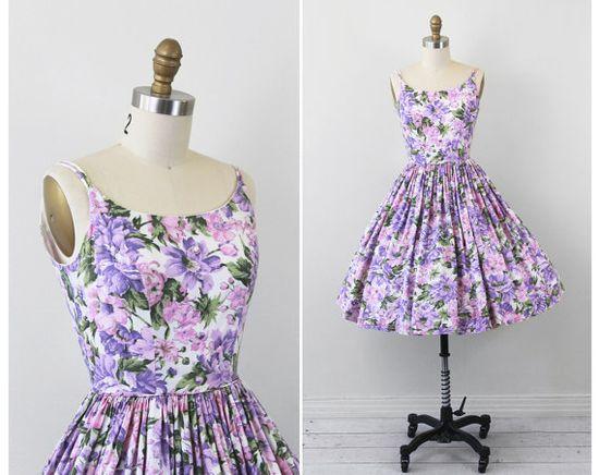 Vintage Spring Dress.