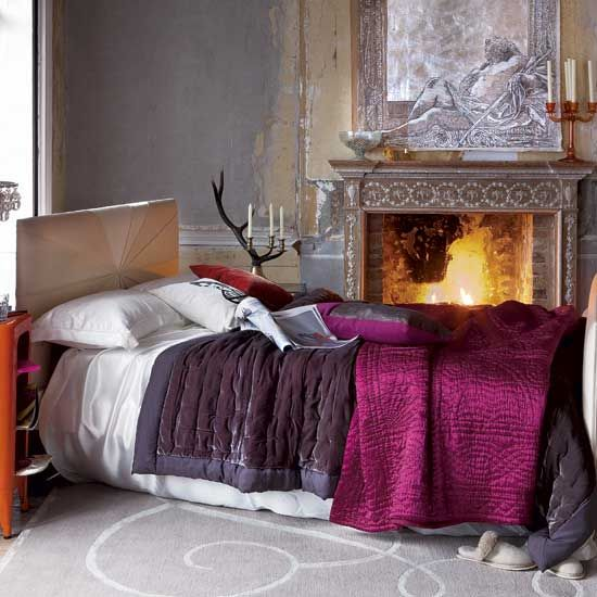 Wintry Bedrooms and Winter Decorating Ideas