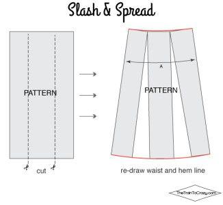 How to Make a Maxi Skirt - Todays Creative Blog