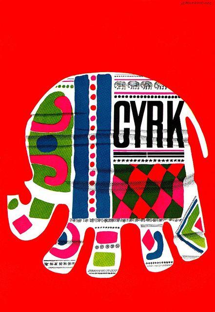 Jan Mlodozeniec CYRK Illustration