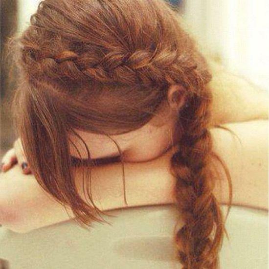 cute braid hair
