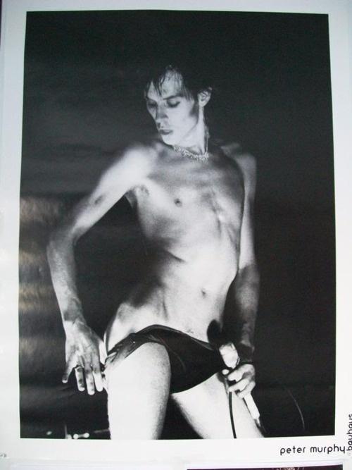 Peter Murphy of Bauhaus