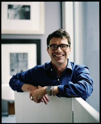 admire his work...thomas o'brien: another one of my favorite interior designers.  he melds vintage and modern.