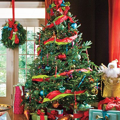Bold & Bright Christmas Tree