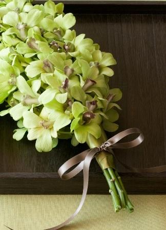 Green Wedding Flowers - Bouquet