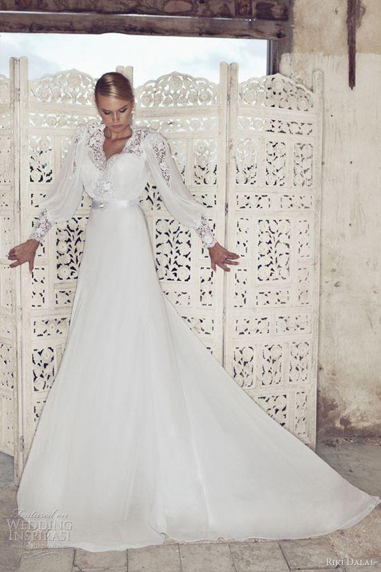 riki dalal 2013 israeli wedding dress designer