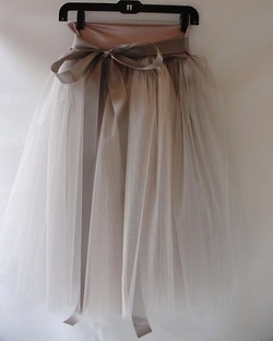 Beautiful skirt.  ?