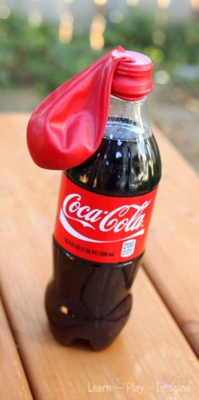 Do you know how you can blow up a balloon with soda?  This cool science experiment for kids will blow your mind!
