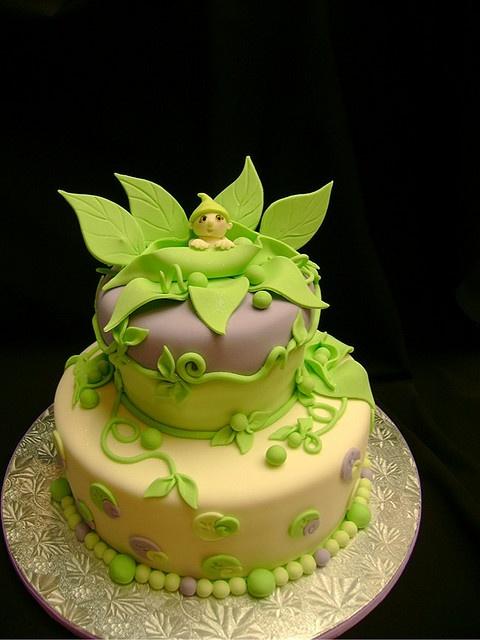Peapod cake!