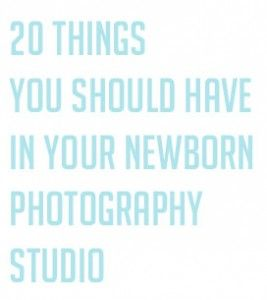 newborn studio tools