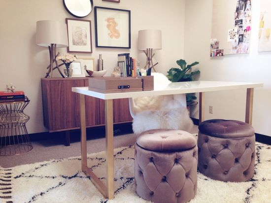 Office Decor: Dolly Pearl headquarters #dollypearl #office #interiors #decorating
