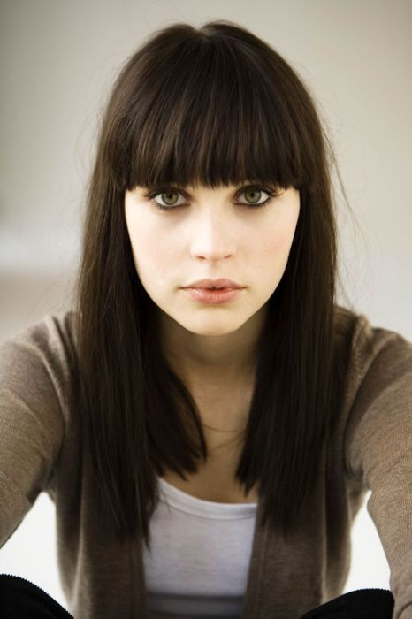 this is how i want my bangs to look!
