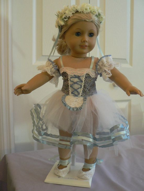 Wow. Beautiful dance costume for American Girl Dolls