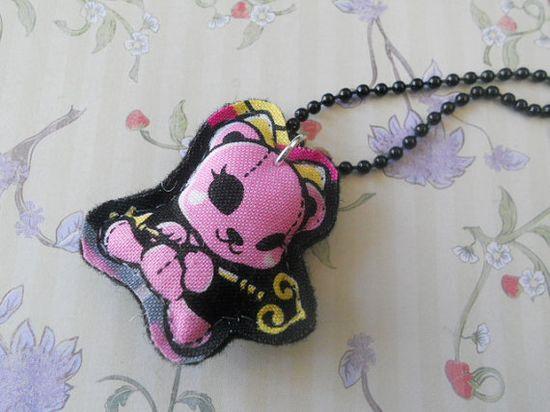 Stuffed animal necklace