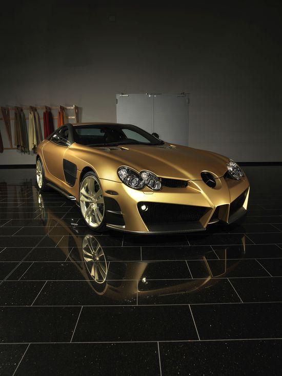 McClaren gold car