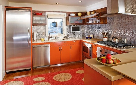 Modern Northport Kitchen by Phi Home Designs