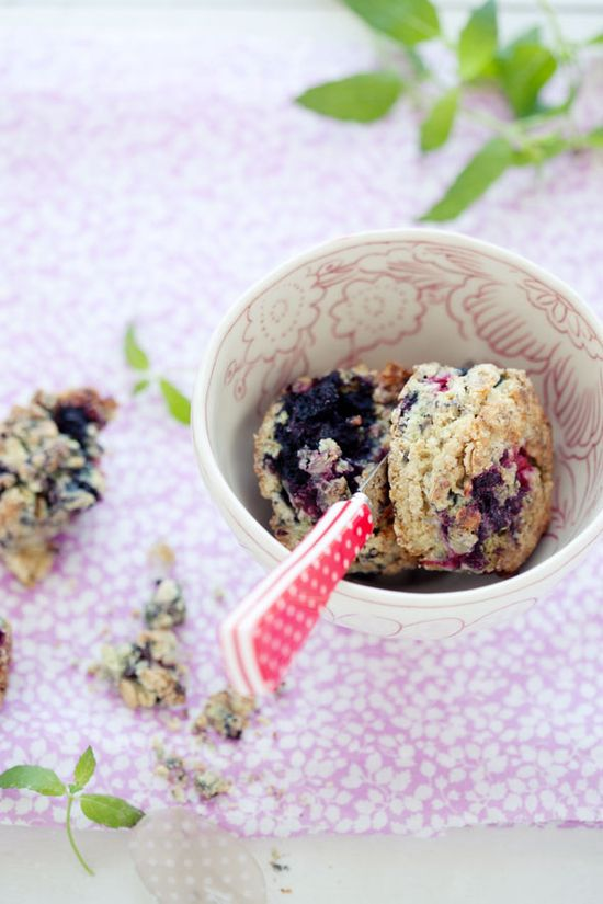 Black raspberry scones