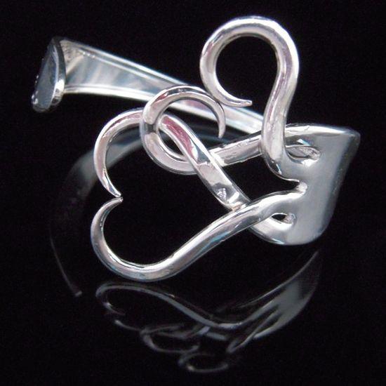 DIY fork bracelet - love it!