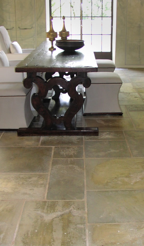 beautiful stone floor