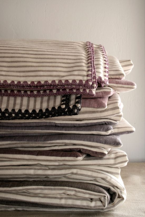 Laura's Loop: Flannel ReceivingBlankets - The Purl Bee - Knitting Crochet Sewing Embroidery Crafts Patterns and Ideas!