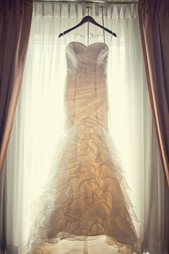 San Patrick wedding gown.