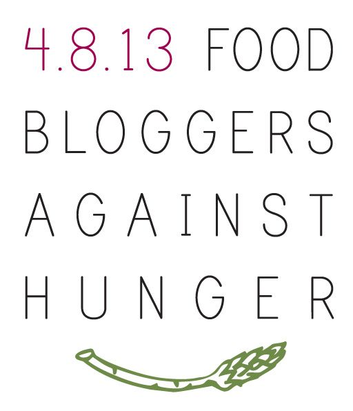Food Bloggers Against Hunger - Join the movement on April 8th!
