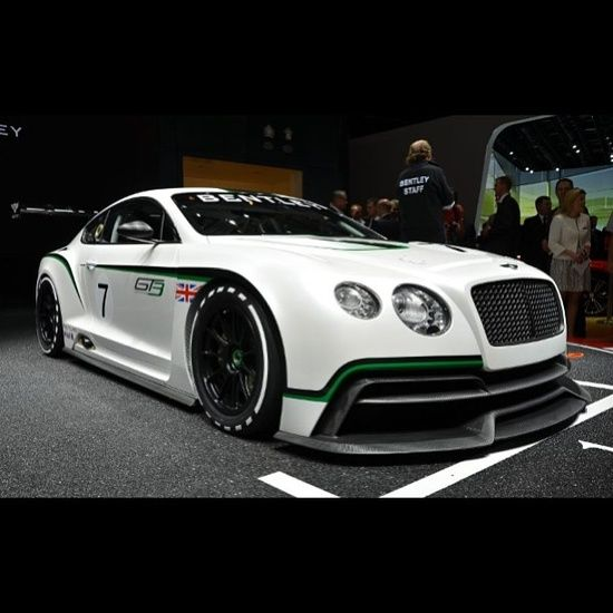 Bentley Continental GT3 #luxury sports cars #celebritys sport cars #customized cars #sport cars