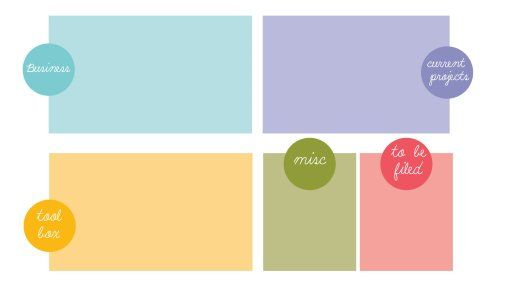 Organized Desktop Wallpaper