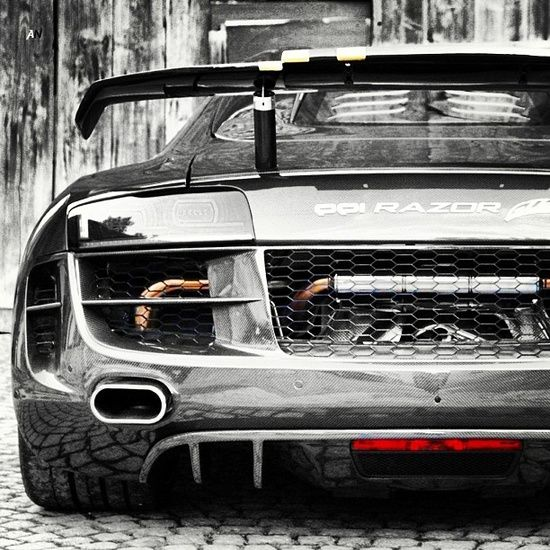 Carbon Fiber Audi R8 PPi Razor GTR - Sign up today to carhoots for insanely awesome 'pinworthy' car