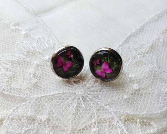 Butterfly Earrings by Weezi, $8.00 #handmade #earrings