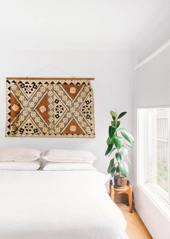 Guest bedroom // Minimal ethnic