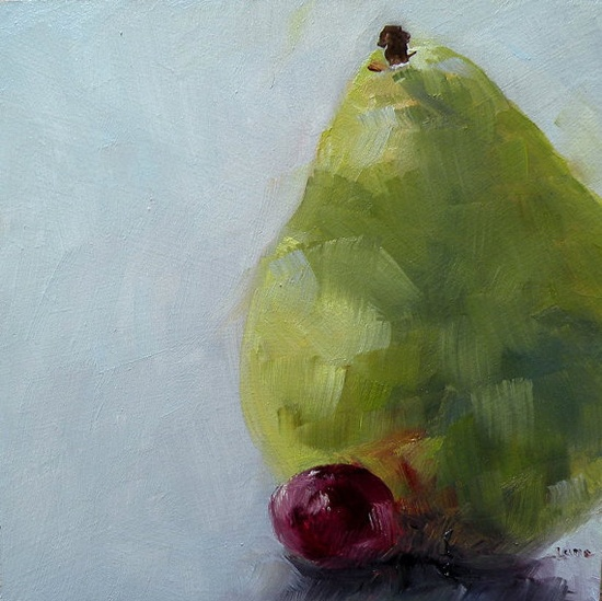 Fruity Duo by SLaneGallowayFineArt on Etsy, $25.00