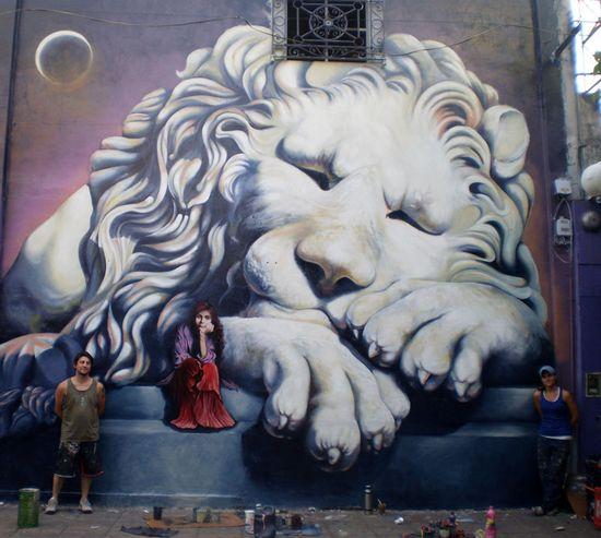 #StreetArt #UrbanArt - Martin Ron