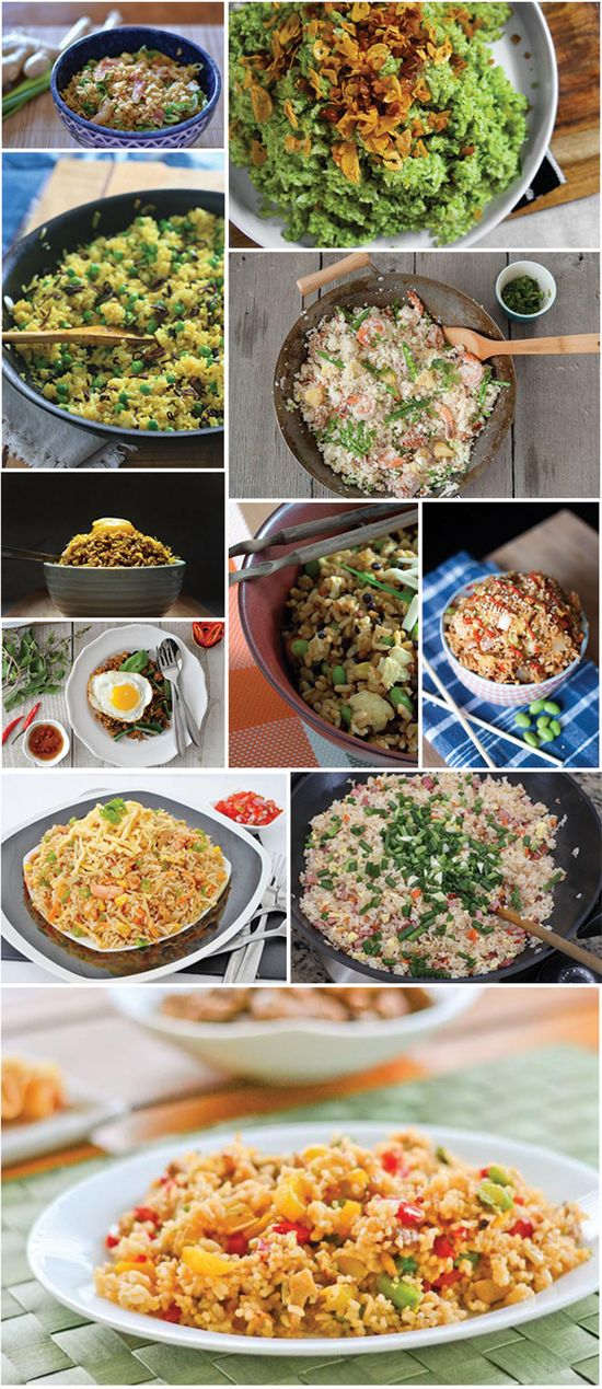 FANTASTIC FRIED RICE RECIPES