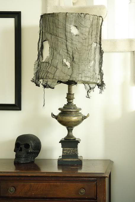 spooky halloween lamp