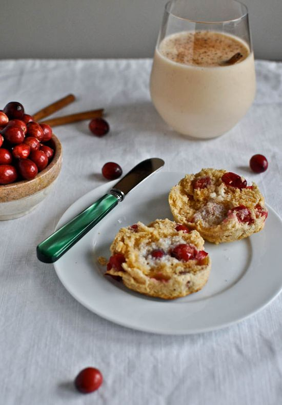 Cranberry Whole Wheat Buttermilk Biscuits I howsweeteats.com