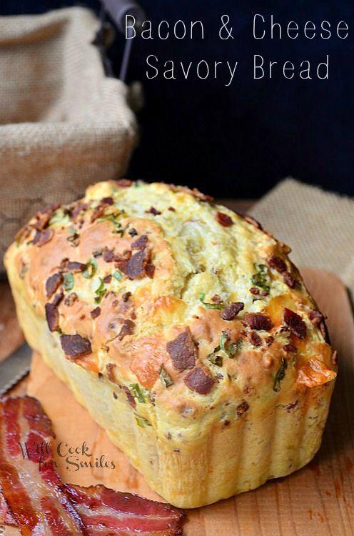 Bacon Cheese Savory Bread