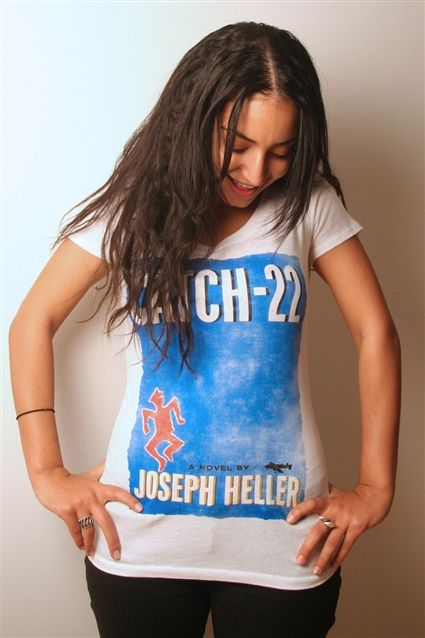 Catch-22 book cover t-shirt
