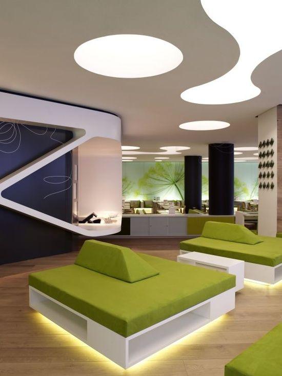 Futuristic Interior #architecture interior design #interior design #home design #decoracao de casas #home interior decorators