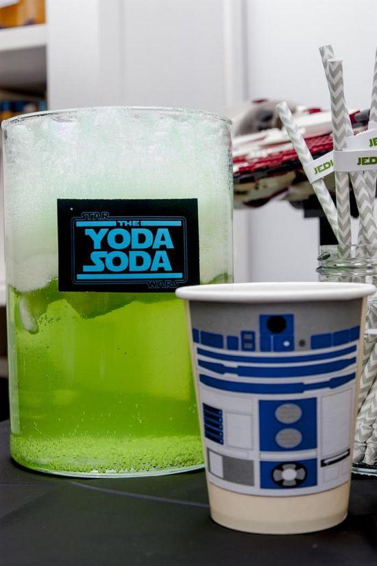 Star Wars Birthday Party via Kara's Party Ideas #star #wars #tween #birthday #party #idea