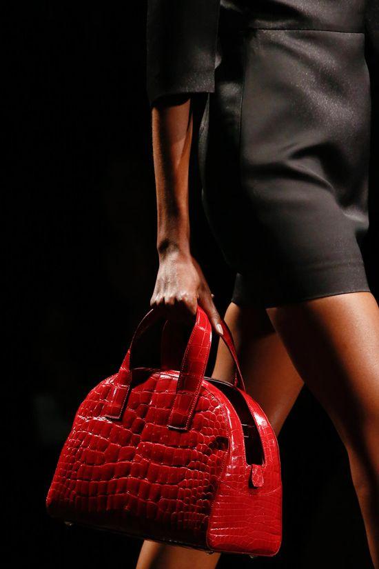 #Prada Spring 2013 #Details #Bags