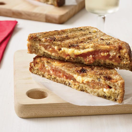 Multigrain Grilled Cheese Sandwiches // Hot, Melted Sandwiches: www.foodandwine.c... #foodandwine
