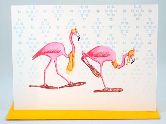 Amélie Legault Flamingos