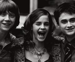 Emma Watson, Rupert Grint & Daniel Radcliffe