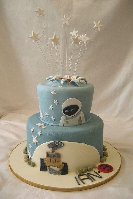 Wall-E cake :)
