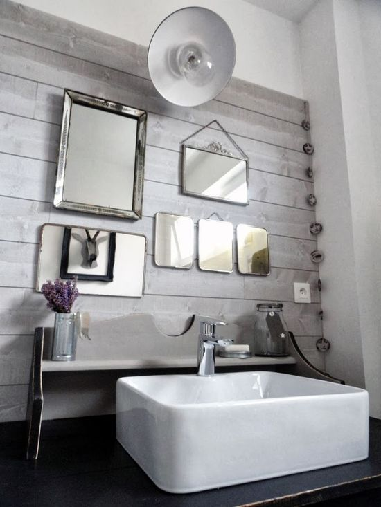 #interior #decor #styling #industrial #scandinavian #bathroom