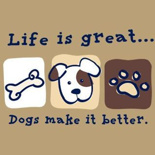 Dogs make it amazing!